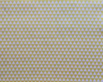 Riley Blake, Oh Boy!  Tiny triangles, yellow