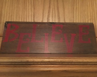 Believe Wall Hanging