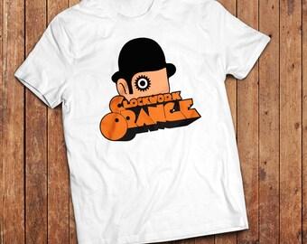 Clockwork Orange T-Shirt. Anthony Burgess classic book, film by Stanley Kubrick