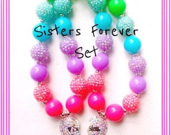 SALE--Sisters Forever Necklace Set