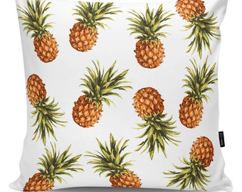 Decoartive pillow Pineapples white