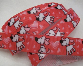 Puppy Love Ribbon 7/8""