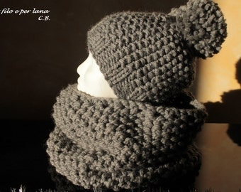 Hat and scarf wool