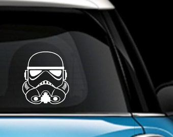 Storm Trooper Car Decal - Star Wars Decal - Storm Trooper