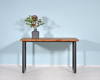 Timber & iron table Heerlen