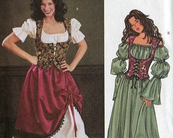 Medieval wench costume – Etsy UK