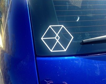 Kpop EXO EXODUS Car/Computer Vinyl Decal