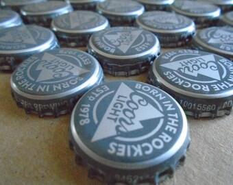 50 Coors Light Beer Bottle Caps