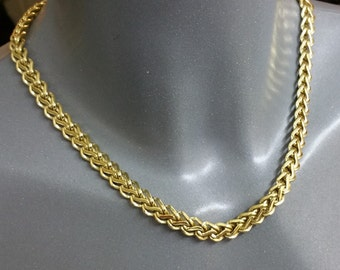 American gold chain plated necklace SK900