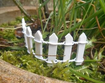 Fairy garden fence Etsy