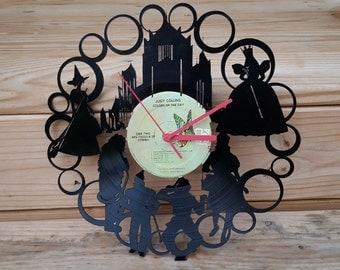 Wizard of Oz Vinyl Record Clock