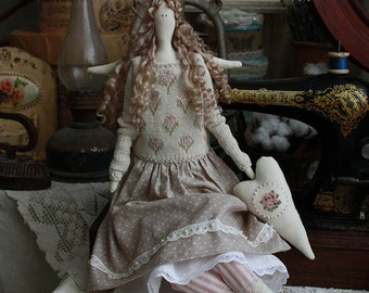 Handmade Tilda Doll Gertrude