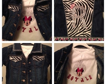 Custom Minnie Jacket