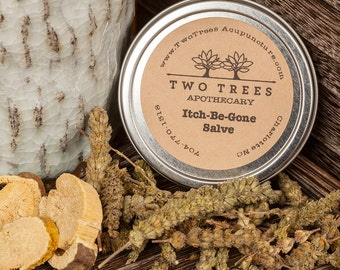 Chinese Herbal Itch-Be-Gone Salve
