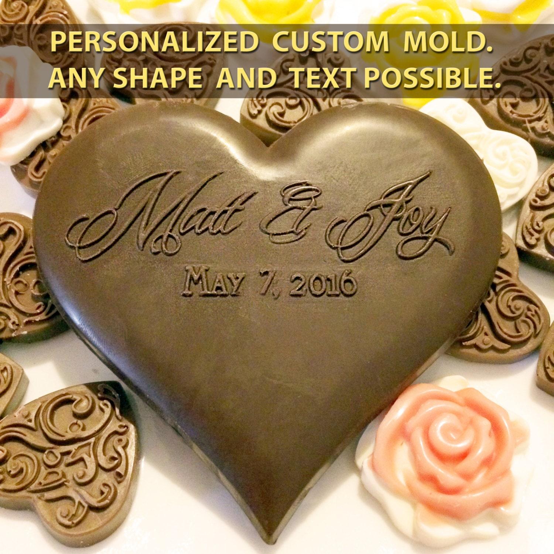 Custom Chocolate Mold Heart Shaped Custom Silicone Mold