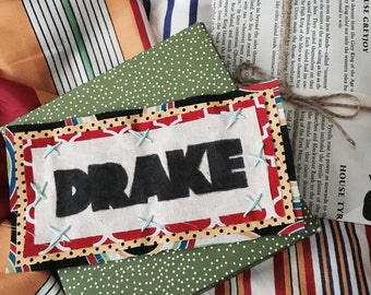 Handmade Drake Patch