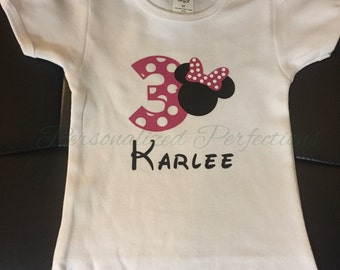 Mouse Birthday Shirt or Onesie