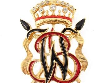 Original Vintage Signed 'Butler & Wilson' Brooch
