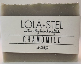 Chamomile Soap, Unscented Soap, Vegan Soap, All-Natural Soap