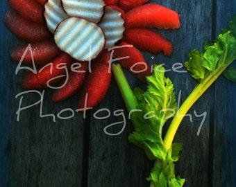 Fruit & Veggie Flower