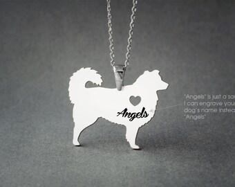AUSTRALIAN SHEPHERD NAME Necklace - Australian Shepherd Name Jewelry - Personalised Necklace - Dog breed Jewelry - Dog Necklaces