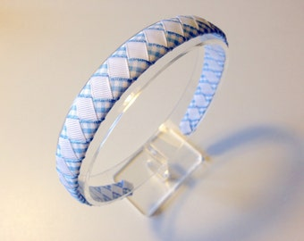 School Gingham Summer Headband / alice band - hair accessories, school colours