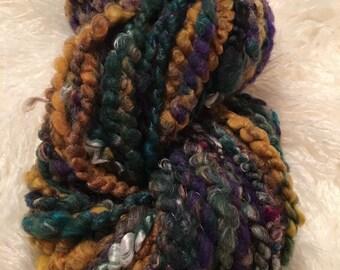 Handspun Art Yarn - 62 yards