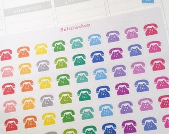 Telephone/Phone/Call Planner Stickers