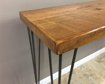 Reclaimed Wood Console/Sofa Table