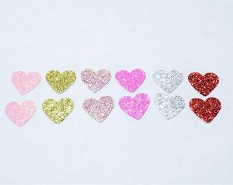 Sparkling Heart Confetti