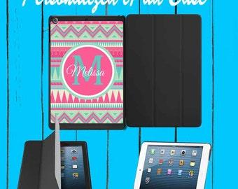 iPad Case iPad mini Case iPad Air Case Monogram iPad Case Monogram iPad Mini Case Monogram Aztec Pink Tribal Aztec