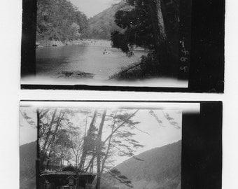 Oi River, Japan by J. Dearden Holmes, 1920s original Antique Photo Set (2 photos), collectible, historic