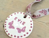 Personalised Ceramic tag/...