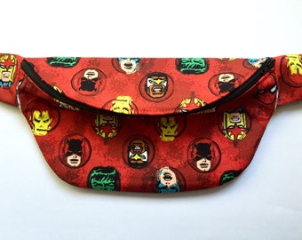 Red Marvel Fanny Pack