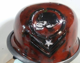 Metal mulisha DOT helmet
