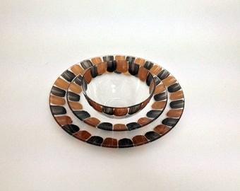 Tableware set Radial Bronze
