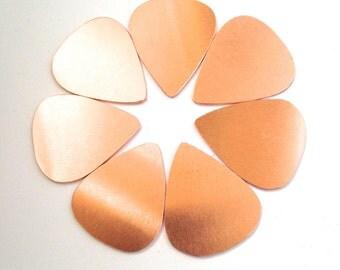 Copper Guitar Pick Blank - Guitar Plectrum Blank