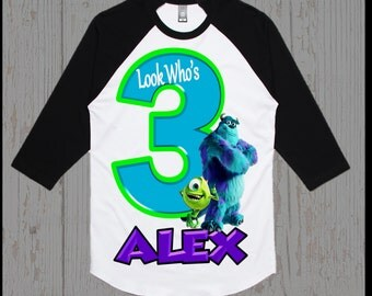 Monsters Inc Birthday Shirt - Monsters Inc. Shirt