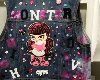 Monster High Diva Jean Vest