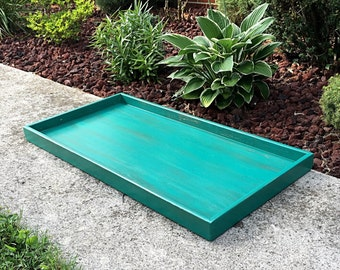 Shoe tray - Boot tray -Shoe organizer - Shoe storage - Solid Pine - Choose your paint color - 39x20x3
