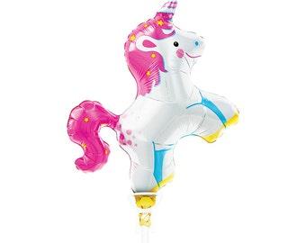 Rainbow Unicorn Theme Unicorn Balloon Unicorn Party Decor Unicorn Birthday Unicorn Baby Shower Unicorn First Birthday Party Balloons