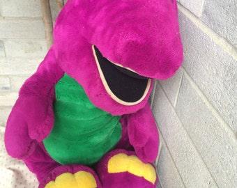 "26"" Barney, Jumbo Barney Plush, Lyons Barney, Barney Plush doll, , Barney and Friends, Large Barney plush"