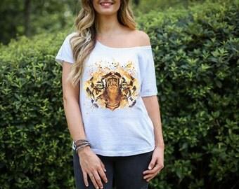 LSU Eye Of The Tiger T-Shirt Ladies, Baby, Toddler Sizes