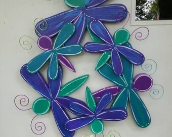 Dragonfly Cluster 3D door hang