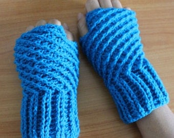 Fingerless gloves, crochet fingerless gloves, wrist warmers, fingerless mittens, hand warmers