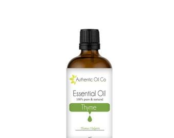 Thyme Essential Oil 100% Pure 10ml 50ml 100ml