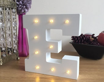 freestanding led white light up letters 6 high letter lights wooden letters marquee letters wall mounted wedding letters