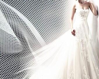 5 yards 10 yards 62 inches Wide Veiling, Birdcage Veil Netting, French Netting, DIY Fascinators, Headpiece, Bridal Veil, Wedding Veils