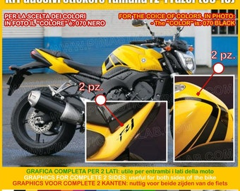Adesivi Stickers moto motorcycle YAMAHA Fazer FZ-1 FZ1 (2006-2010) Vinyl Decal autocollant Graphic Code.0318
