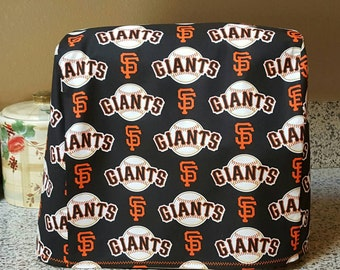 San Francisco Giants fabric stand mixer cover/Kitchen Aide cover/mixer cover/Kitchen Aide mixer cover/handmade/ready to ship